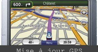 mise à jour GPS Garmin