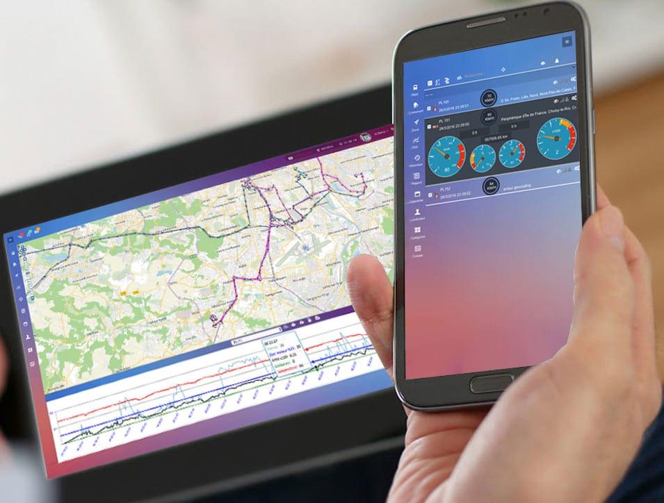 un système de géolocalisation de véhicules par GPS