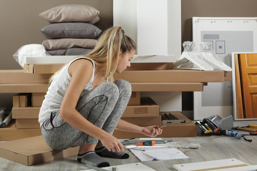 démonter ses meubles pour déménager