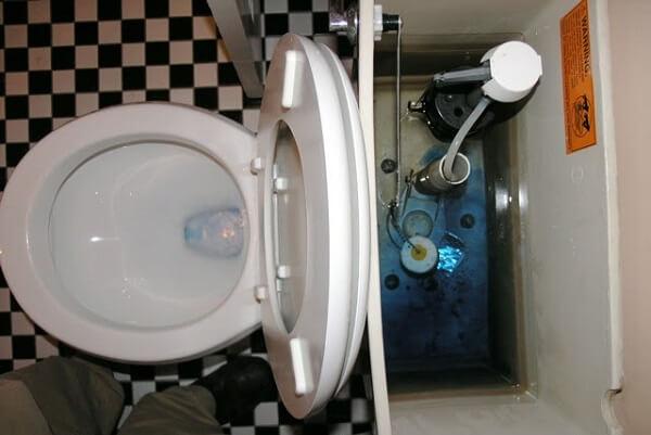 Fuite au niveau des WC